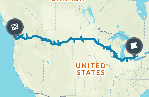 US Route Road Trip Road Trip Map Road Trips And Buckets - Us map road trip