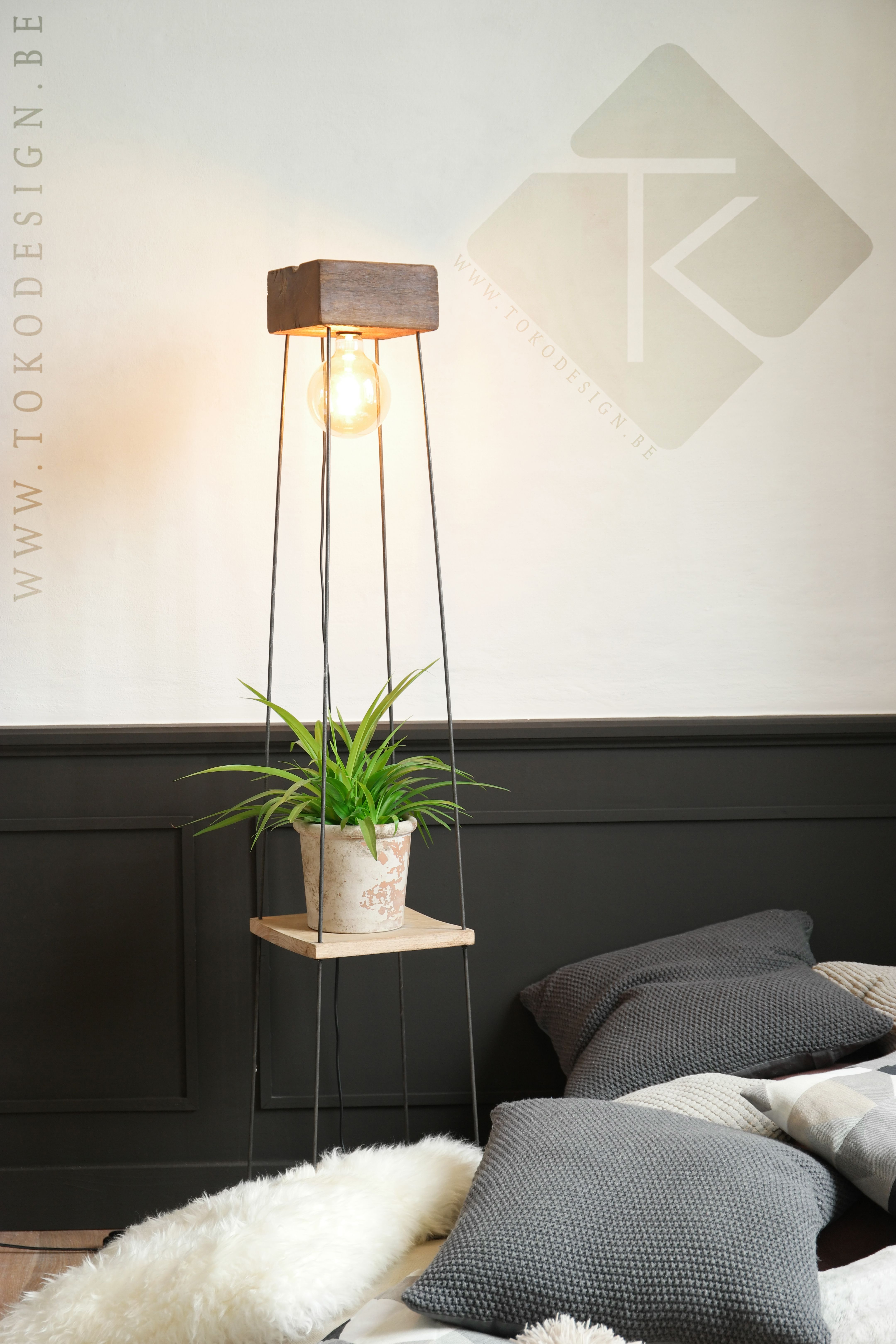 wooden lamp design lamp handmade lamp floor lamp design lighting belgium