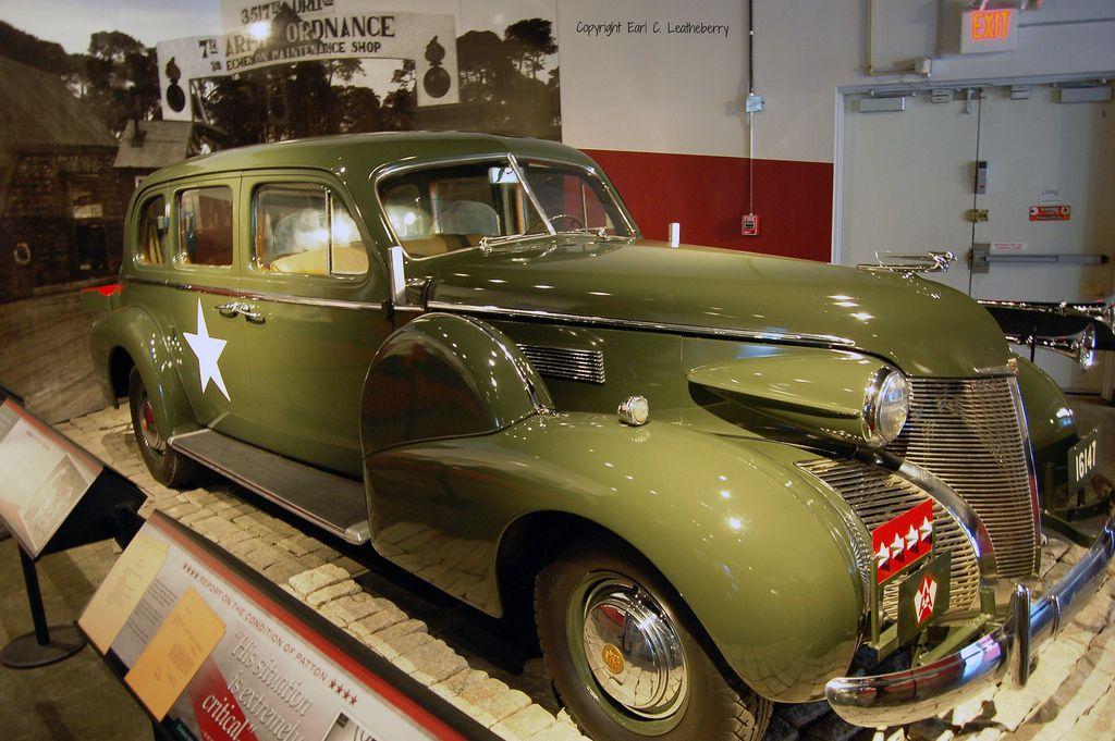 General Patton's 1939 Cadillac