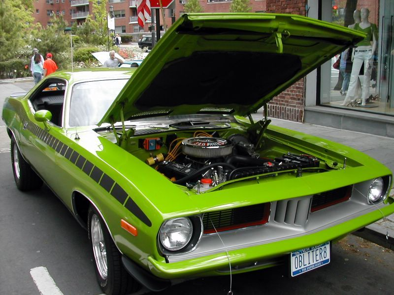 1972 Plymouth Barracuda 440 – This car was known as a beast