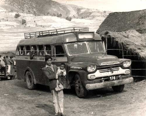 Photos Of Old Buses Around The World 1959 Chevrolet Viking Bus