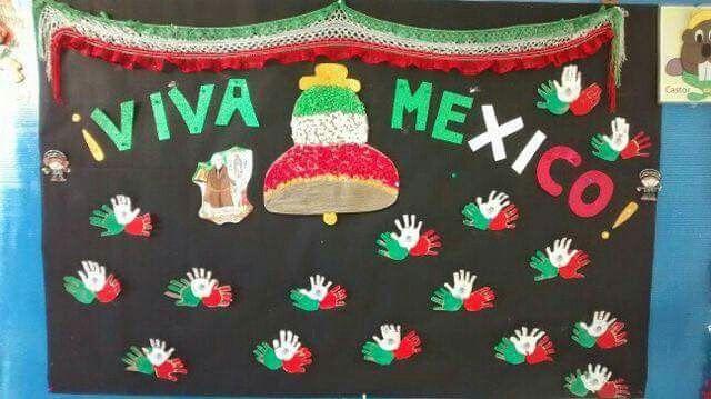Periodico Mural De La Independencia De Mexico