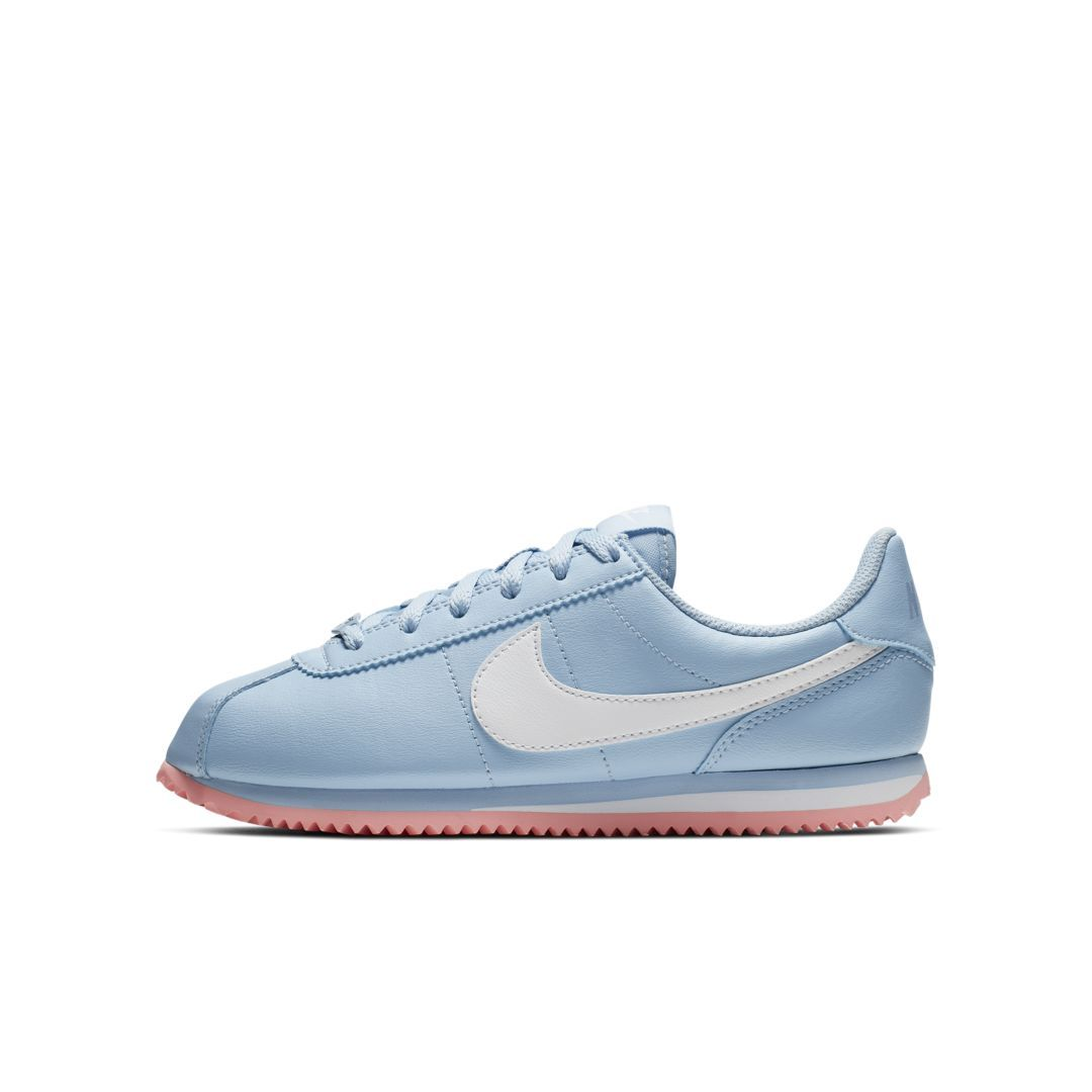 Nike Cortez Basic SL Big Kids' Shoe (Psychic Blue) | Nike