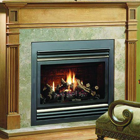 Kingsman Zdv6000 Zero Clearance Direct Vent Gas Fireplace Heater