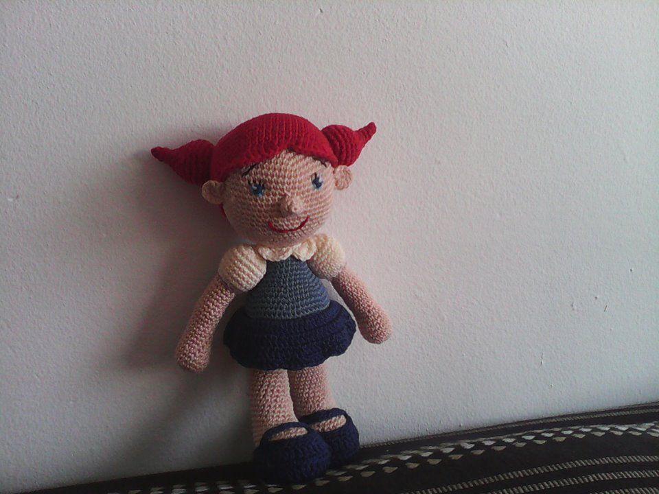 Muñeca con coletas