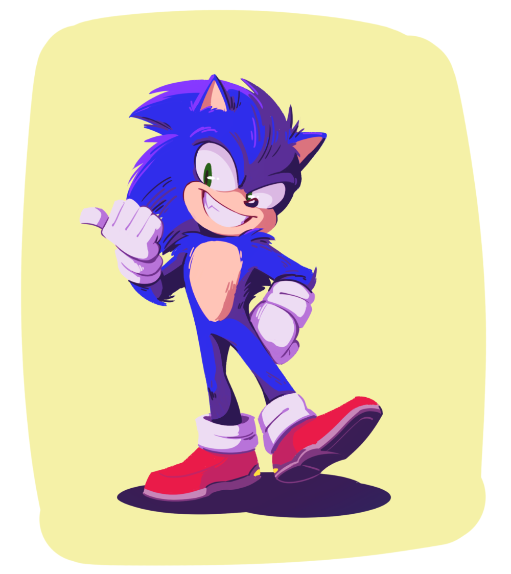 Movie Sonic Looks Amazing I Actually Cried Edit I That S The Broadway Melody Sonic The Hedgehog Sonic Sonic The Movie