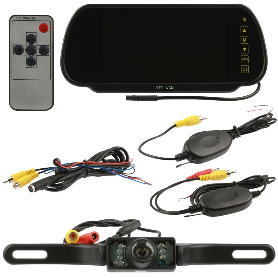 Wireless Backup Camera Instructions - WIRE Center •