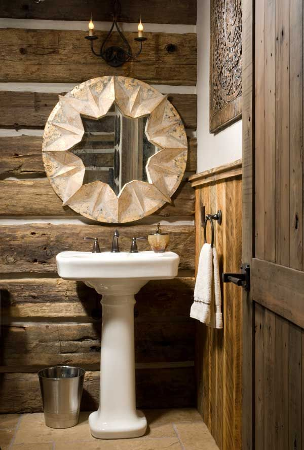 Rustic with a luxe look