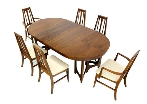 Peachy Very Nice Danish Mid Century Modern Walnut Dining Table 6 Ibusinesslaw Wood Chair Design Ideas Ibusinesslaworg