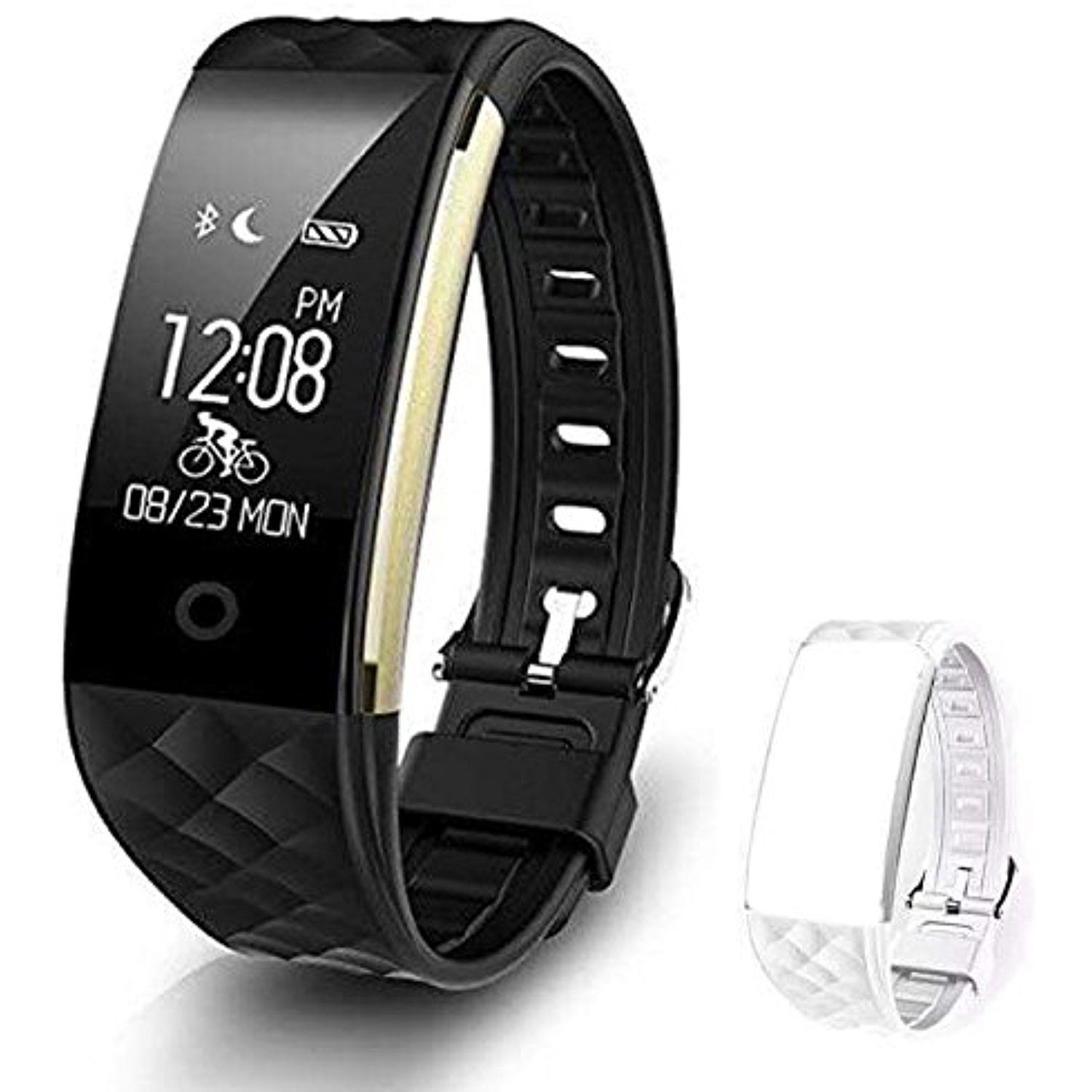 HIVRIX Smart Fitness Watch - Heart rate, pedometer, and