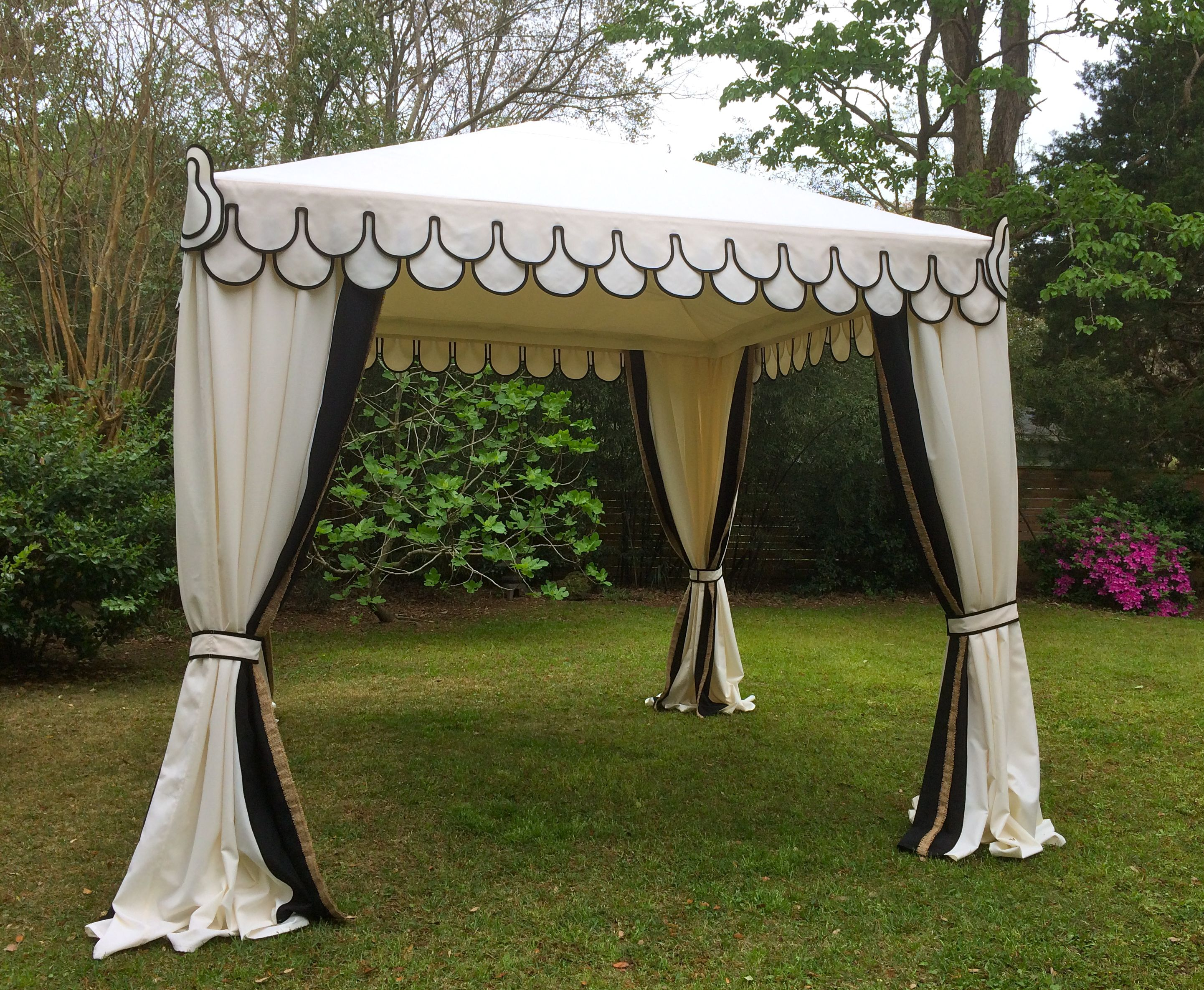 Pin By Boutique Tents On Wedding Tents Gazebo Tent Tent Decorations Apartment Backyard