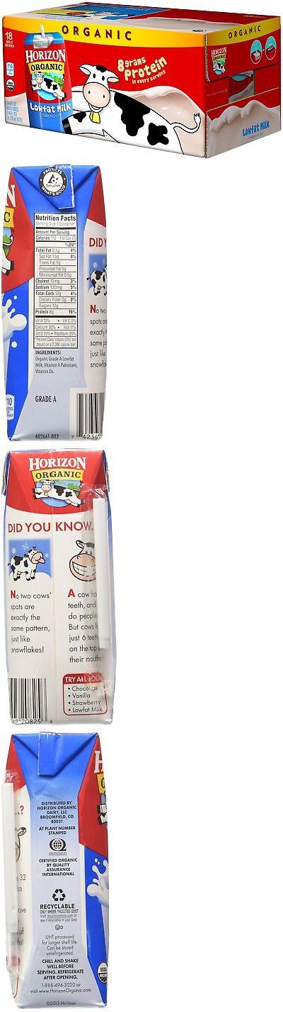 Horizon Organic Reduced Fat Milk 8 Ounce Aseptic Cartons