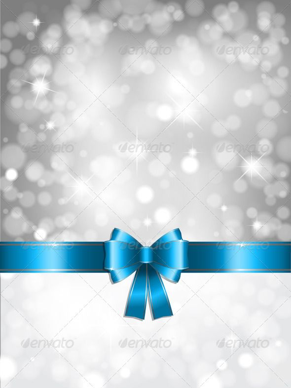 silver christmas lights background - Silver Christmas Lights