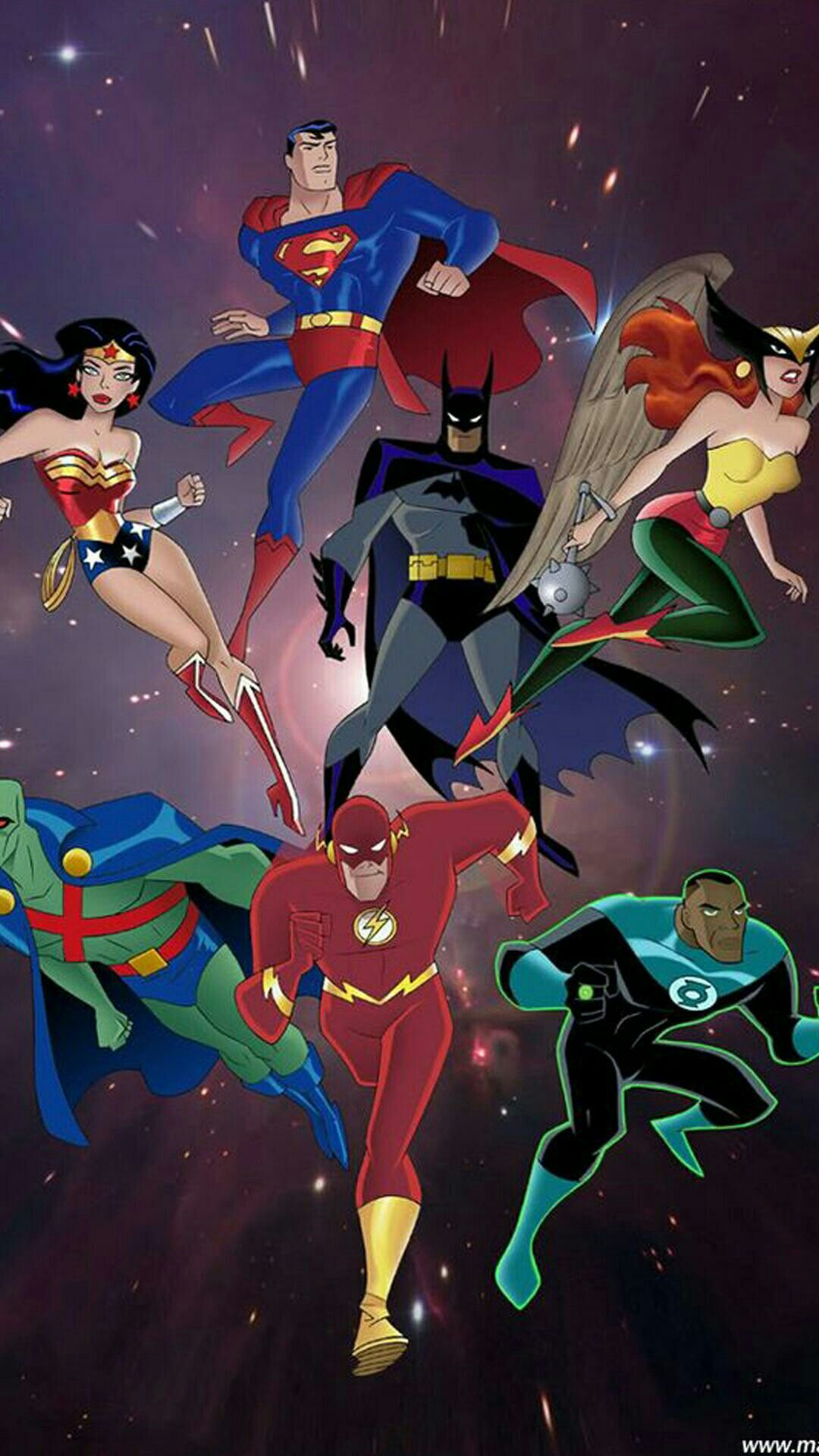 Pin by Allen B. on DC Animation series, Justice league