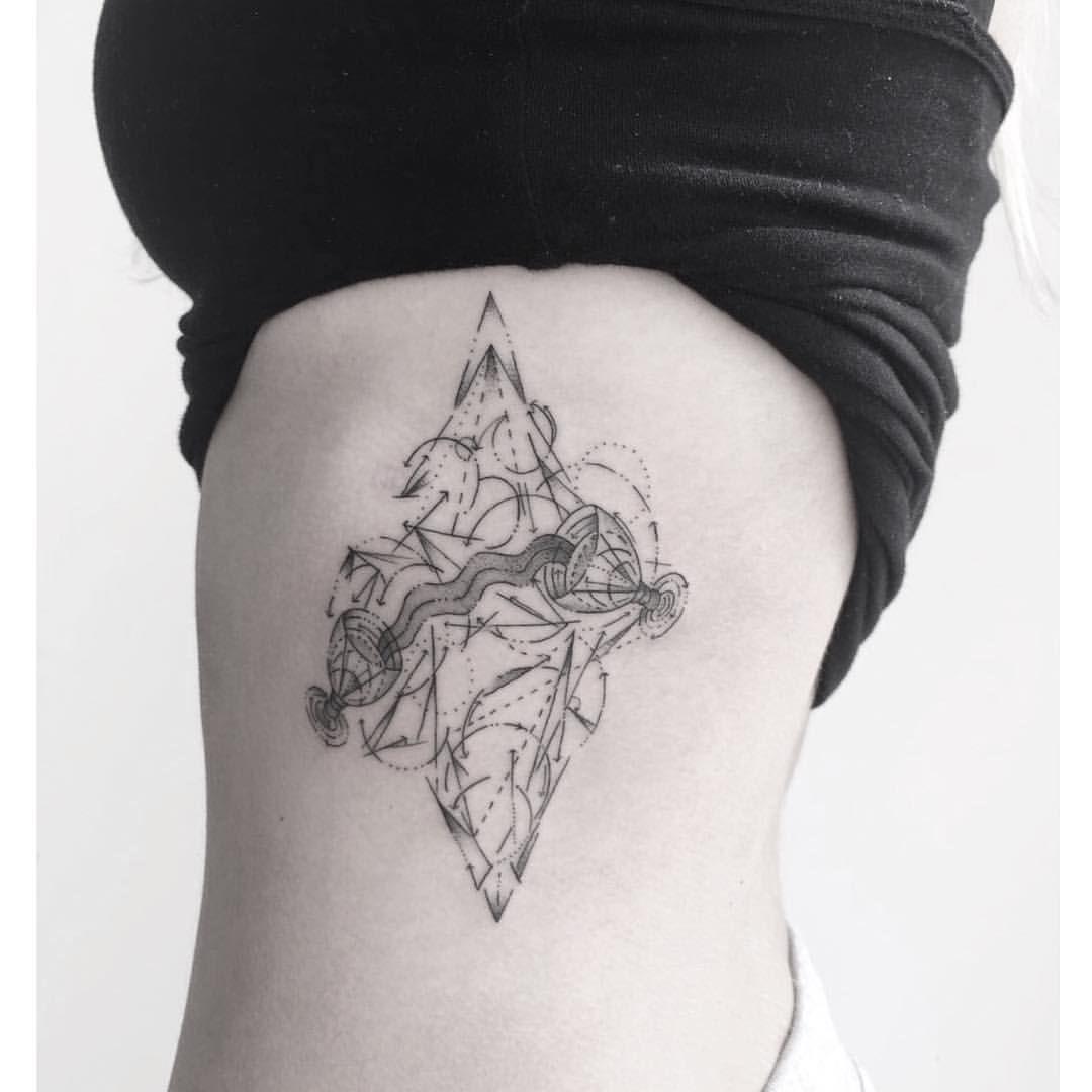 Chronic ink tattoo markham zeke blackwork chalices tarot