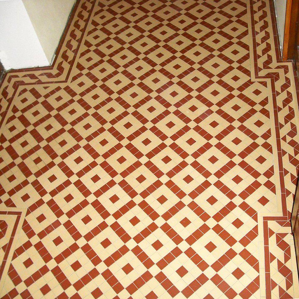Olde English Colliford Geometric Floor Tiles Olde English