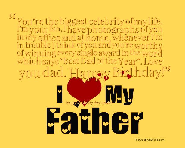 Happy birthday dad quotes sayings and messages birthday quotes happy birthday dad quotes sayings and messages m4hsunfo Choice Image