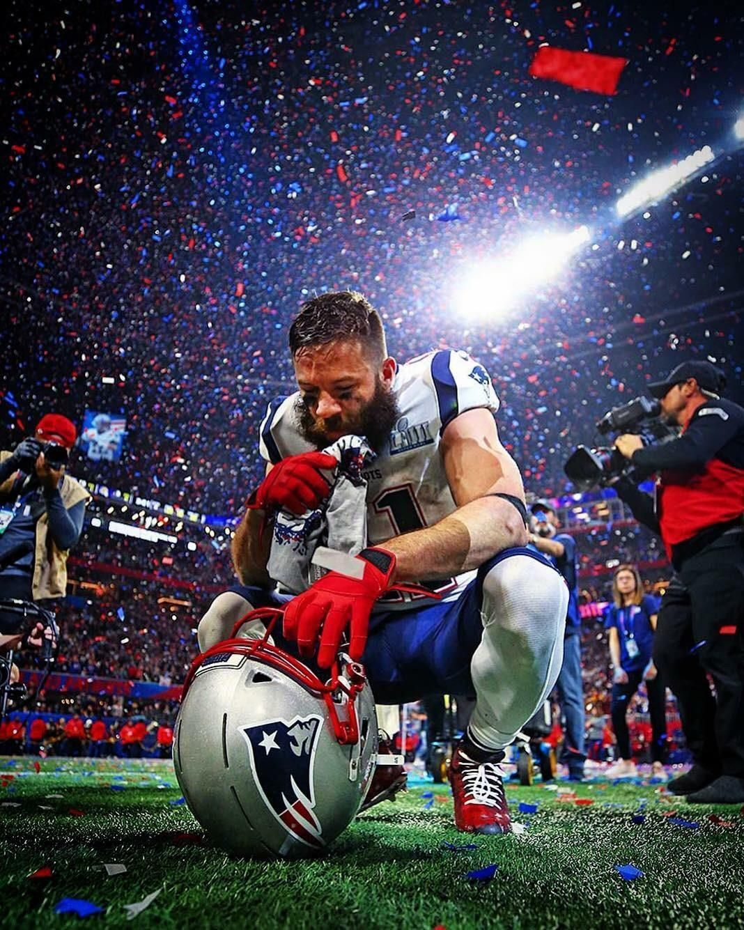 Most Valuable Player New England Patriots Nfl Patriots Julian Edelman