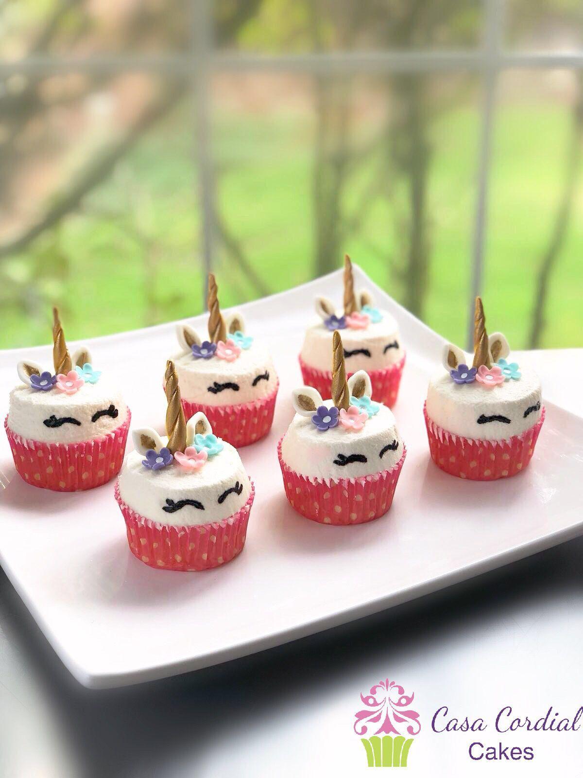 Unicorn Cupcakes Buttercream Frosting Cake Unicornio