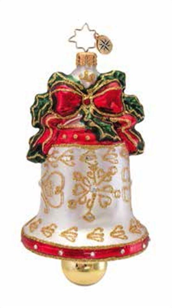 Radko Ornaments Christopher Radko Golden Melodies Ornament Vintage Christmas Ornaments Glass Christmas Ornaments Modern Christmas Ornaments