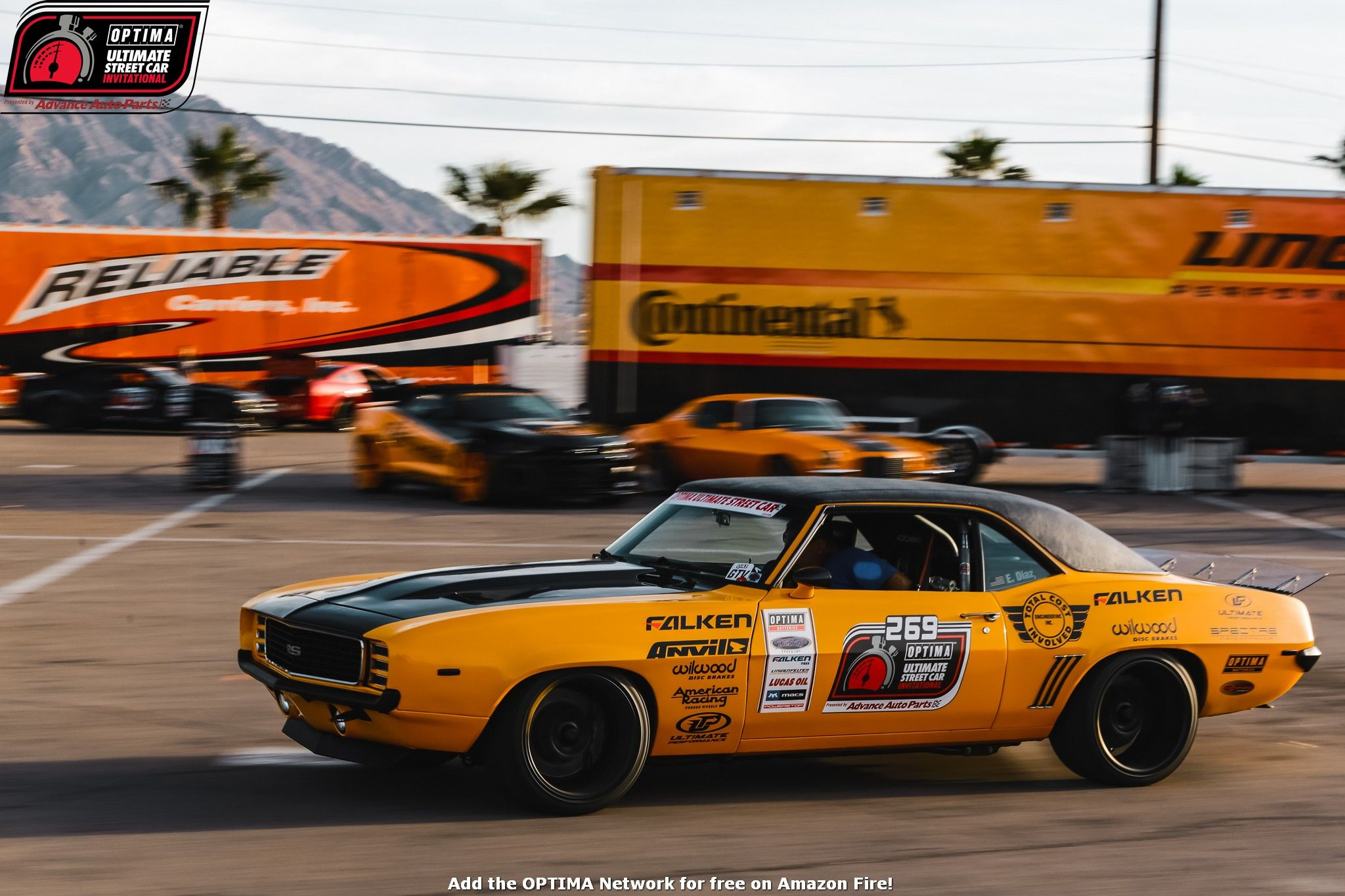 Efrain Diaz's 1969 Chevrolet Camaro finished 17th overall