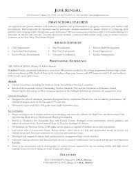 high school science teacher resume samples resumehigh school sample resume high school teacher sample resume high school teacher x resumes pinterest - Sample Resume High School Science Teacher