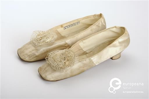1874 February 22 Brautschuhe Wien Museum Victorian Shoes