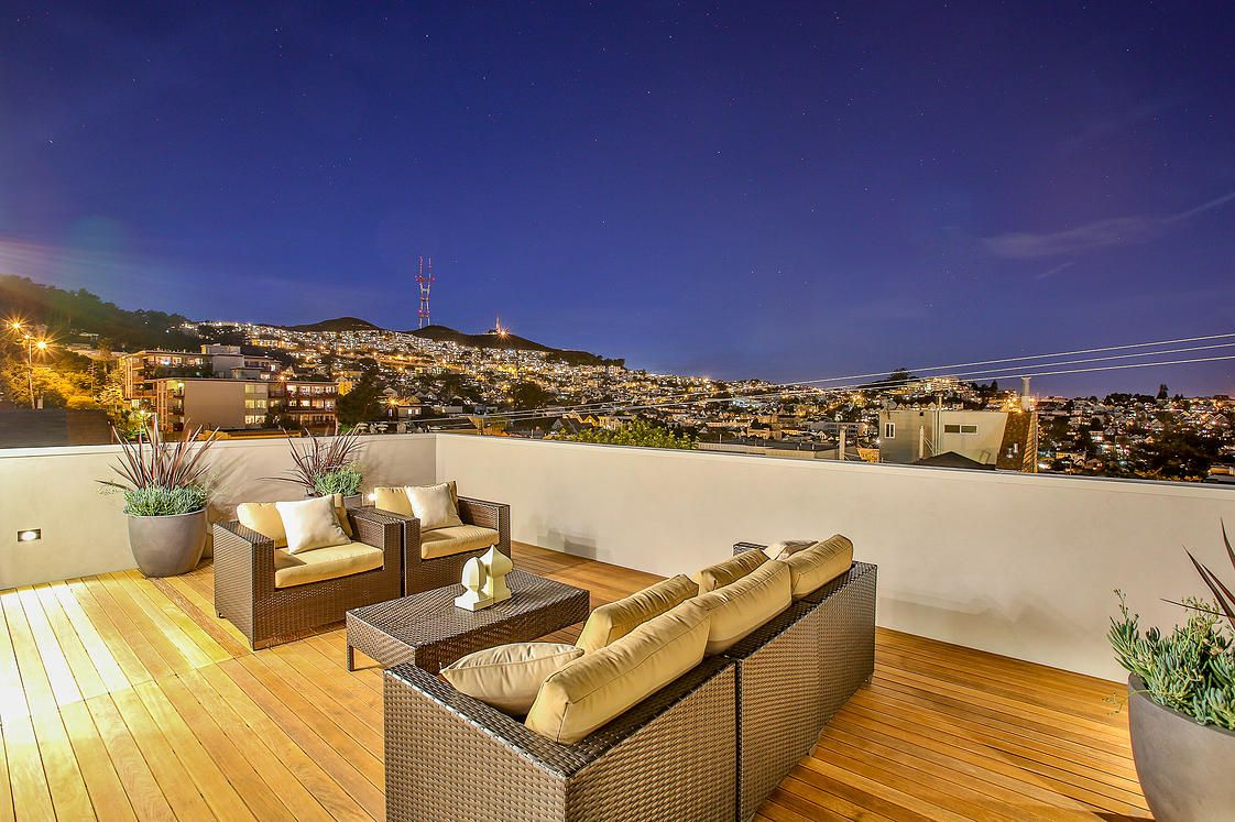 Modern Luxury In Noe Valley With A Spectacular Rooftop Deck
