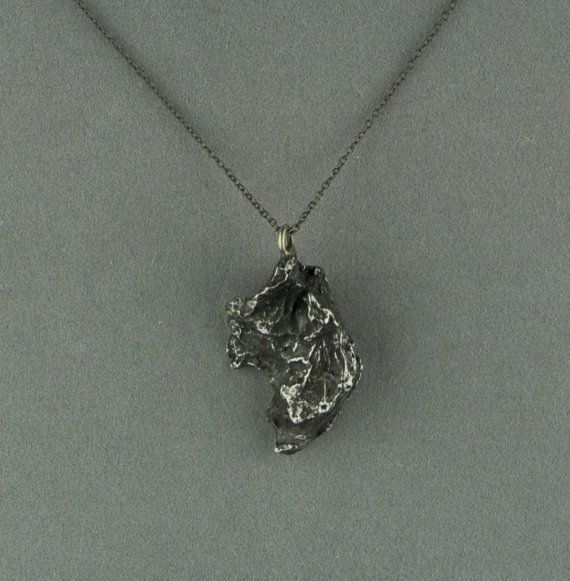 Aaaaannnndddd this too meteorite necklace pendant on oxidized aaaaannnndddd this too meteorite necklace pendant on oxidized silver aloadofball Image collections