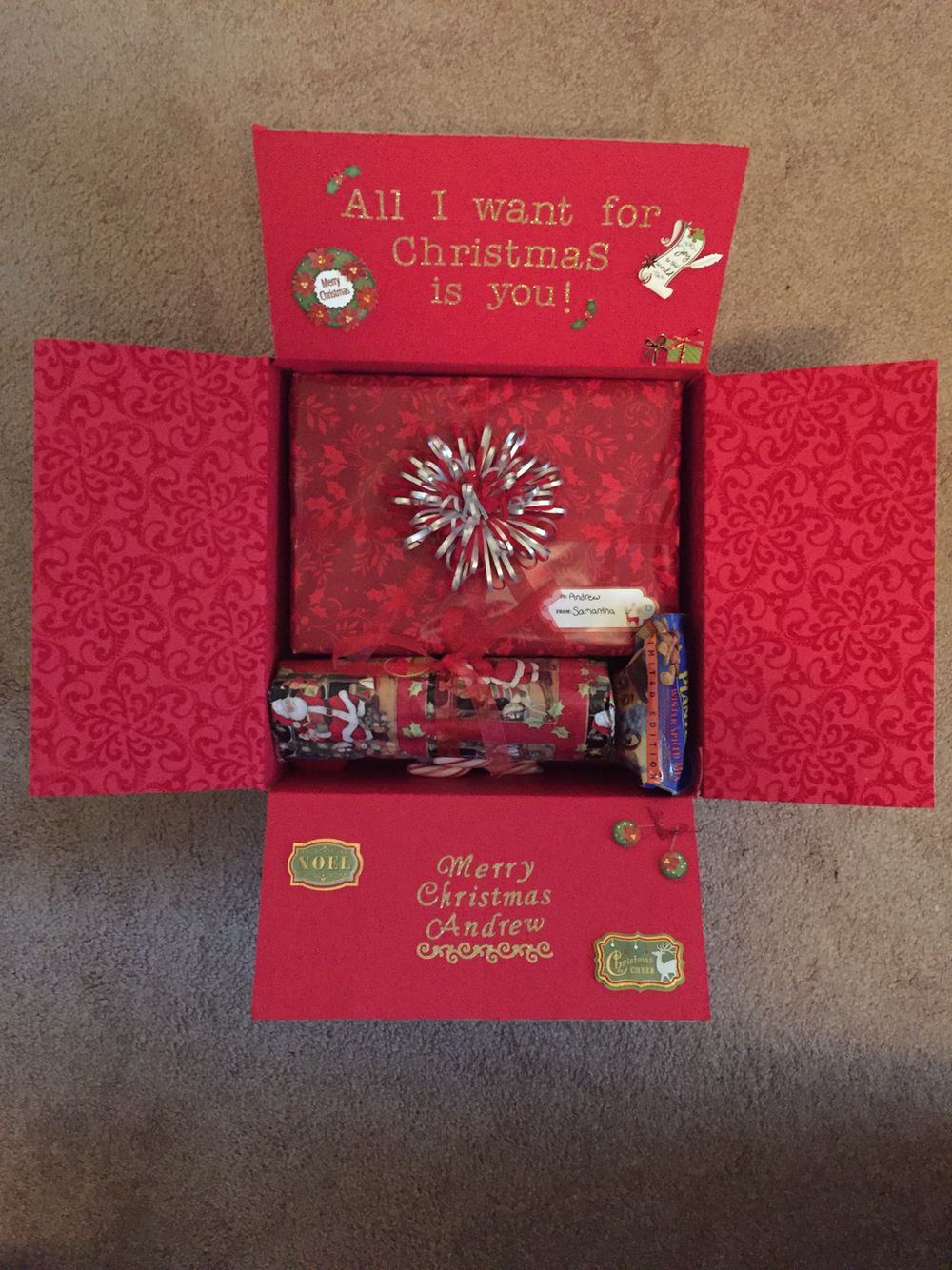 Christmas Deployment Care Package Christmas Gift Packaging