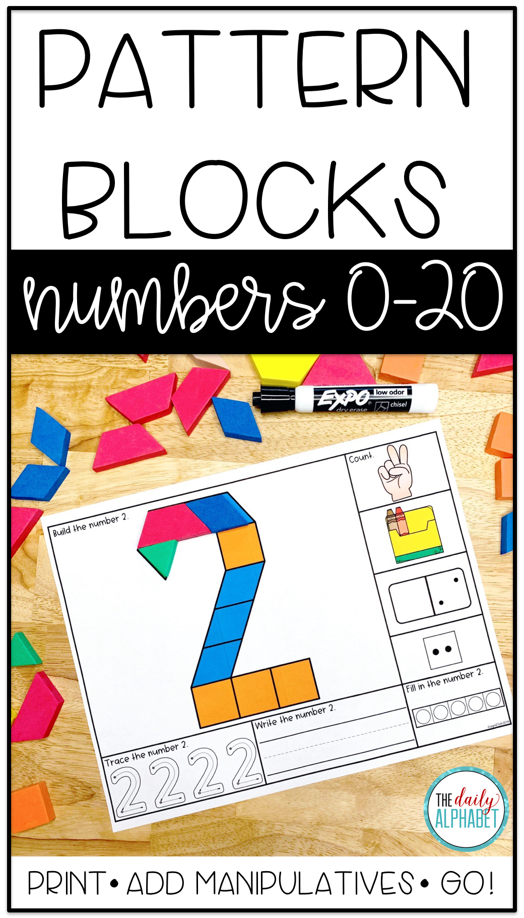 Pattern Block Mats Numbers 0 20 Kindergarten Math Activities Pattern Blocks Math Centers [ 1820 x 1040 Pixel ]