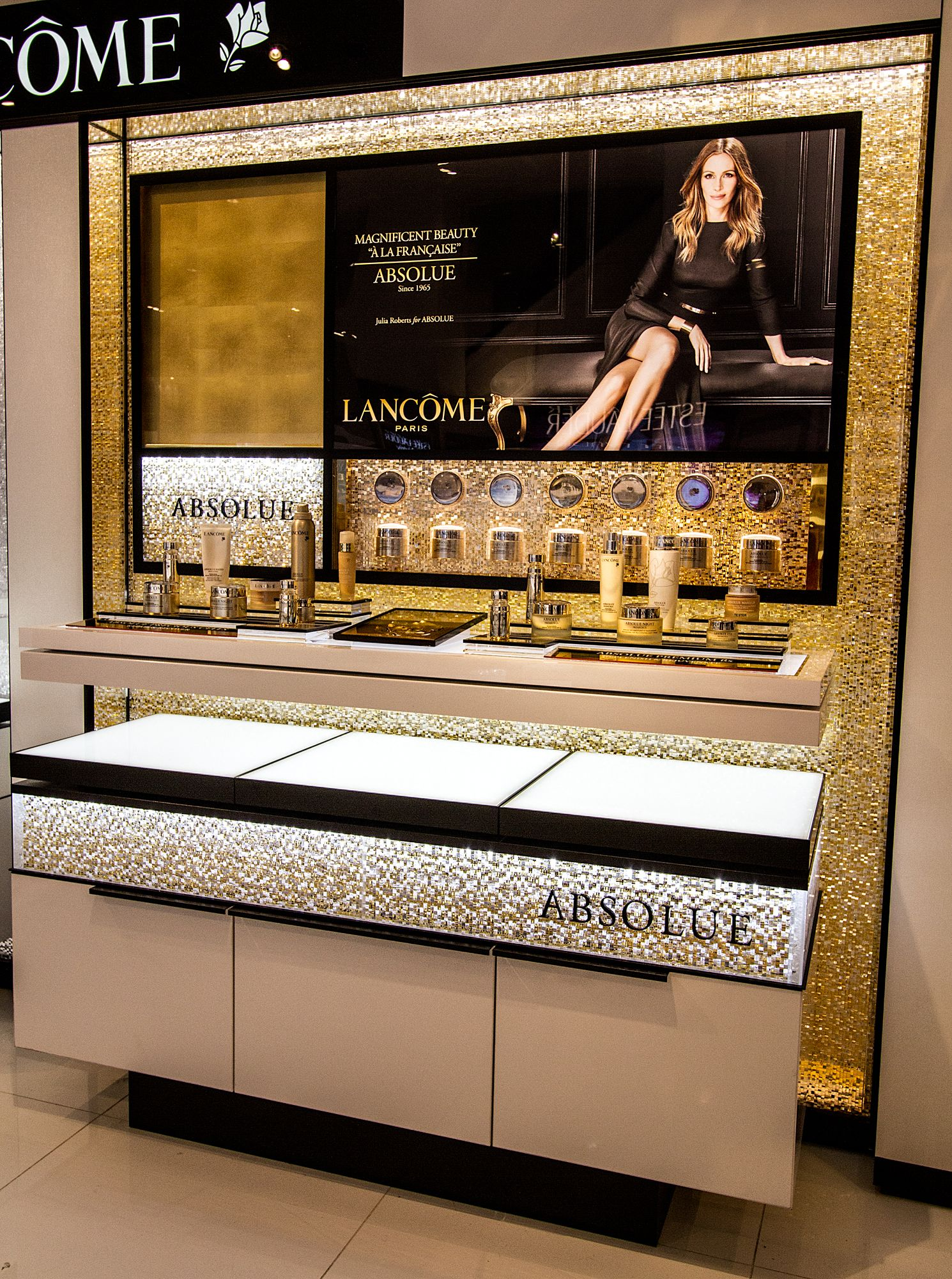 Jali Cascata display at Macy's in New York City