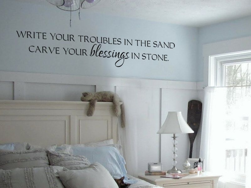 Beach House Lake House Inspirational Vinyl Wall Decal  Via - Wall decals beach quotes