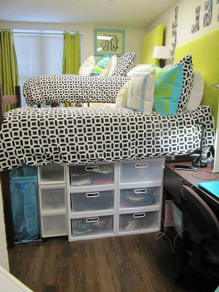 45 Best Tips And Tricks Dorm Room Organization Storage Low Budget