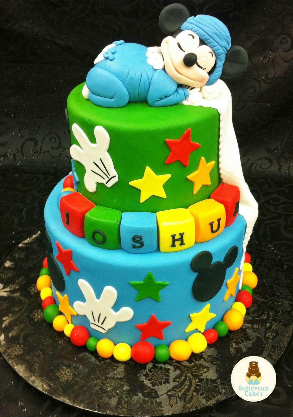 Mickey Mouse Birthday Cake Cartoon Amp Character Cakes