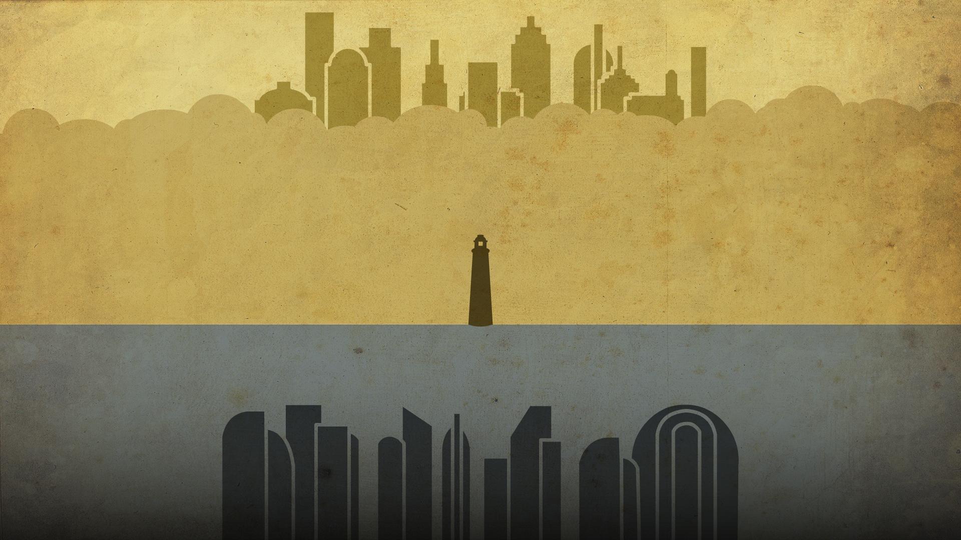 Bioshock Minimal HD Wallpaper - GamePhD
