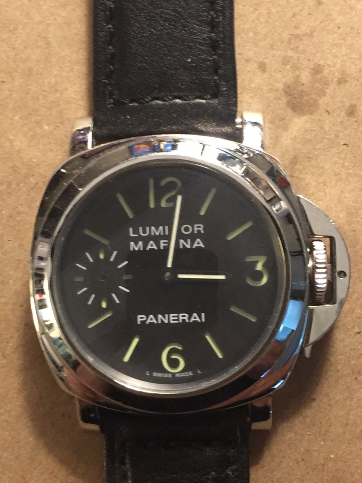 ac6622d0f98 Panerai Luminor Marina Men s Watch Automatic OP6567 H0035 2000 ...