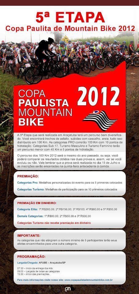 5a Etapa Copa Paulita de Mountain Bike 2012