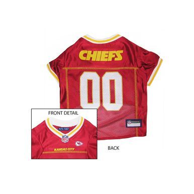 Pets First Kansas City Chiefs NFL Dog Jersey - Extra Small ... 036375641