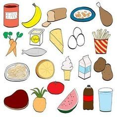 Balanced Eating Clip Art Healthy Eating For Kids Food Clipart Healthy Meals For Kids