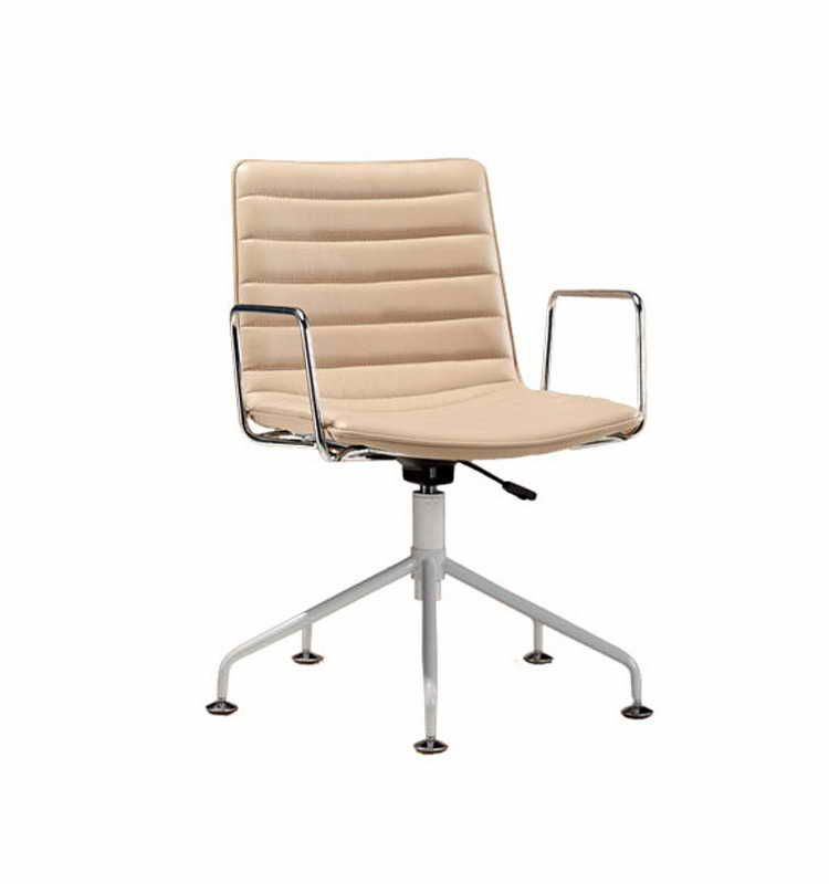 Adjustable Height Desk Chair Without Wheels