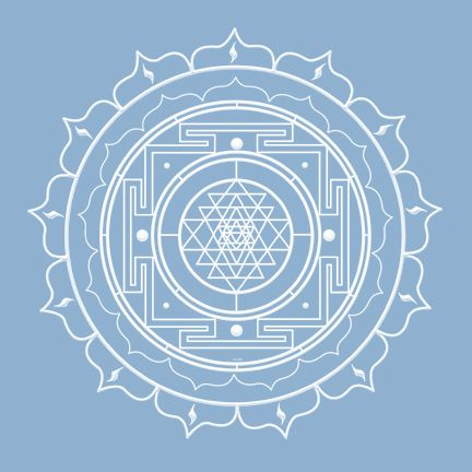 Beej Mantra for Shree Yantra, Meditation Zone | Artwork