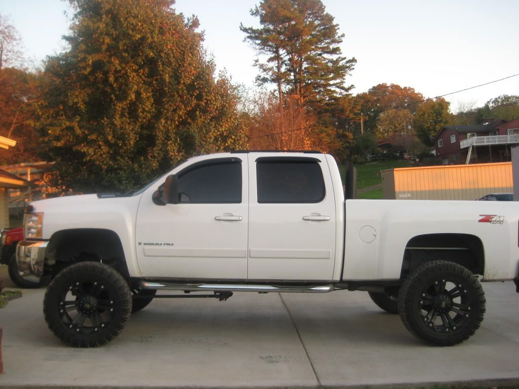 Chevy Trucks Lifted With Stacks chevy lifted trucks wi...