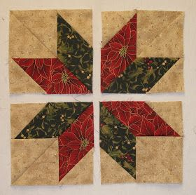 I usually have 12 or more blocks in a quilt. Since our Block of the Month Group is only planning on 9 blocks, I decided to add a few of my o... #starquiltblocks