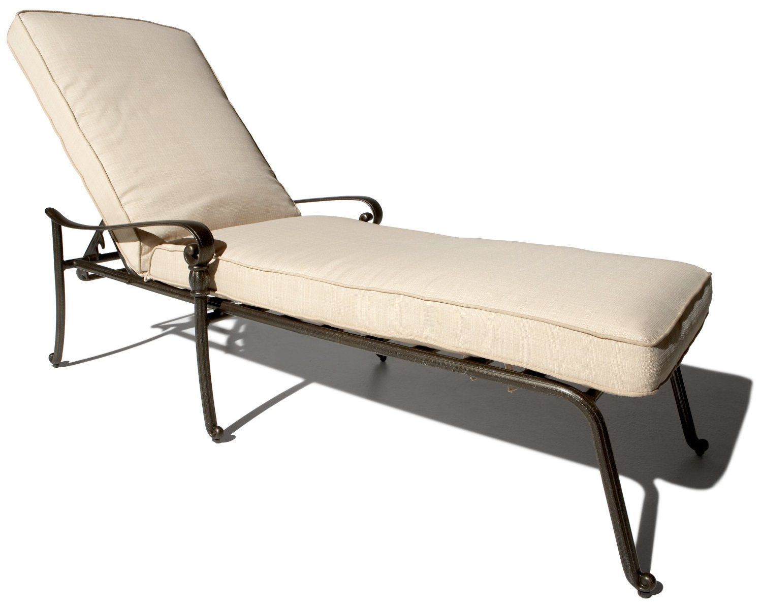 AmazonSmile : Strathwood St. Thomas Cast Aluminum Chaise Lounge Chair : Patio  Lounge Chairs : Patio, Lawn U0026 Garden
