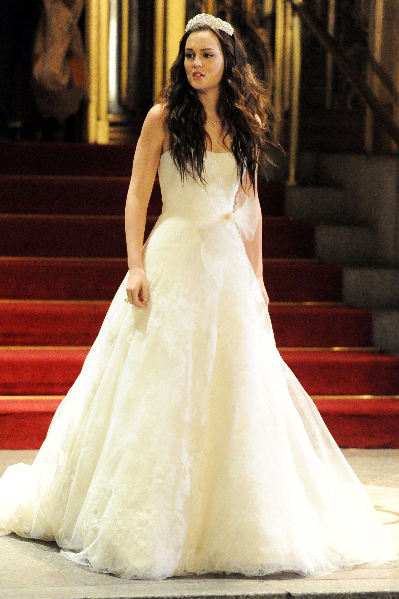 blair waldorf wedding dress | Elbiseler | Pinterest | Blair waldorf ...