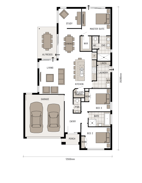 Henley Sienna series Q3   Home Plans   Pinterest   Room and House