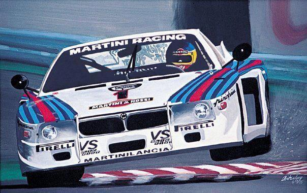 Lancia Montecarlo Turbo | Gr.5 | Pinterest | Martini racing, Cars ...