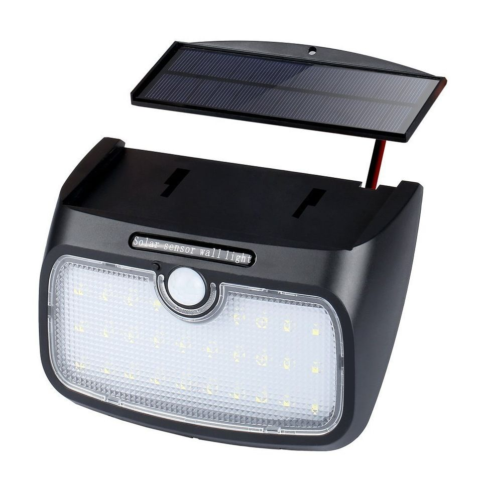 Separable solar light led with three working modes wall lightsfor