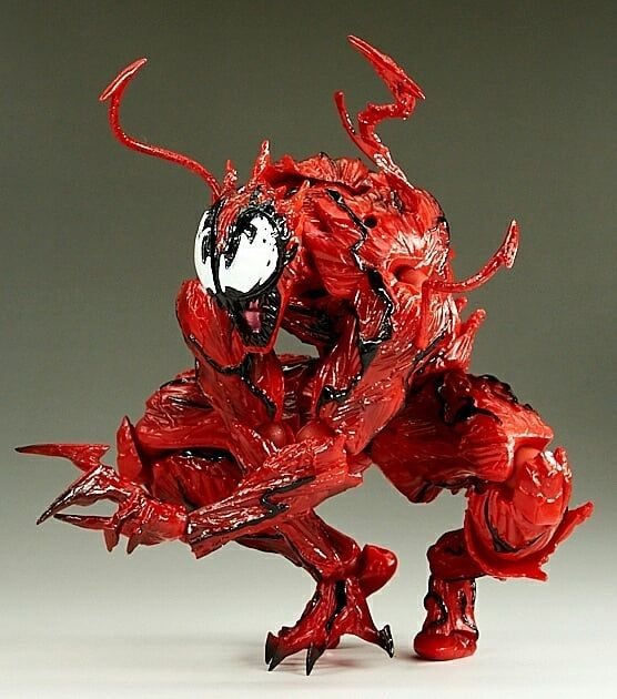 Spider-man Carnage No.008 Action Figures Amazing Yamaguchi Revoltech Kaiyodo Toy Toys & Hobbies Tv & Movie Character Toys